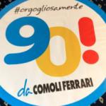 2019 – Tutti a bordo! Ideiamo per loro e poi portiamo tutto il gruppo ComoliFerrari (poco meno di 1000 persone) a bordo di una nave del gruppo MSC noleggiata in esclusiva in Corsica a festeggiare il  90° compleanno dell'azienda.