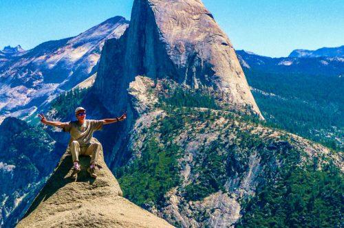 Glacier Point - Yosemite Park negli USA