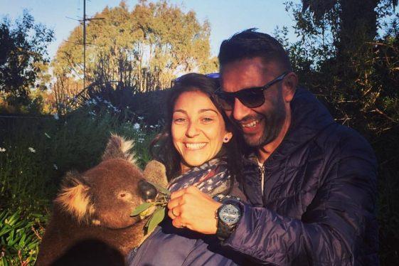 Australia - Coccole con un koala